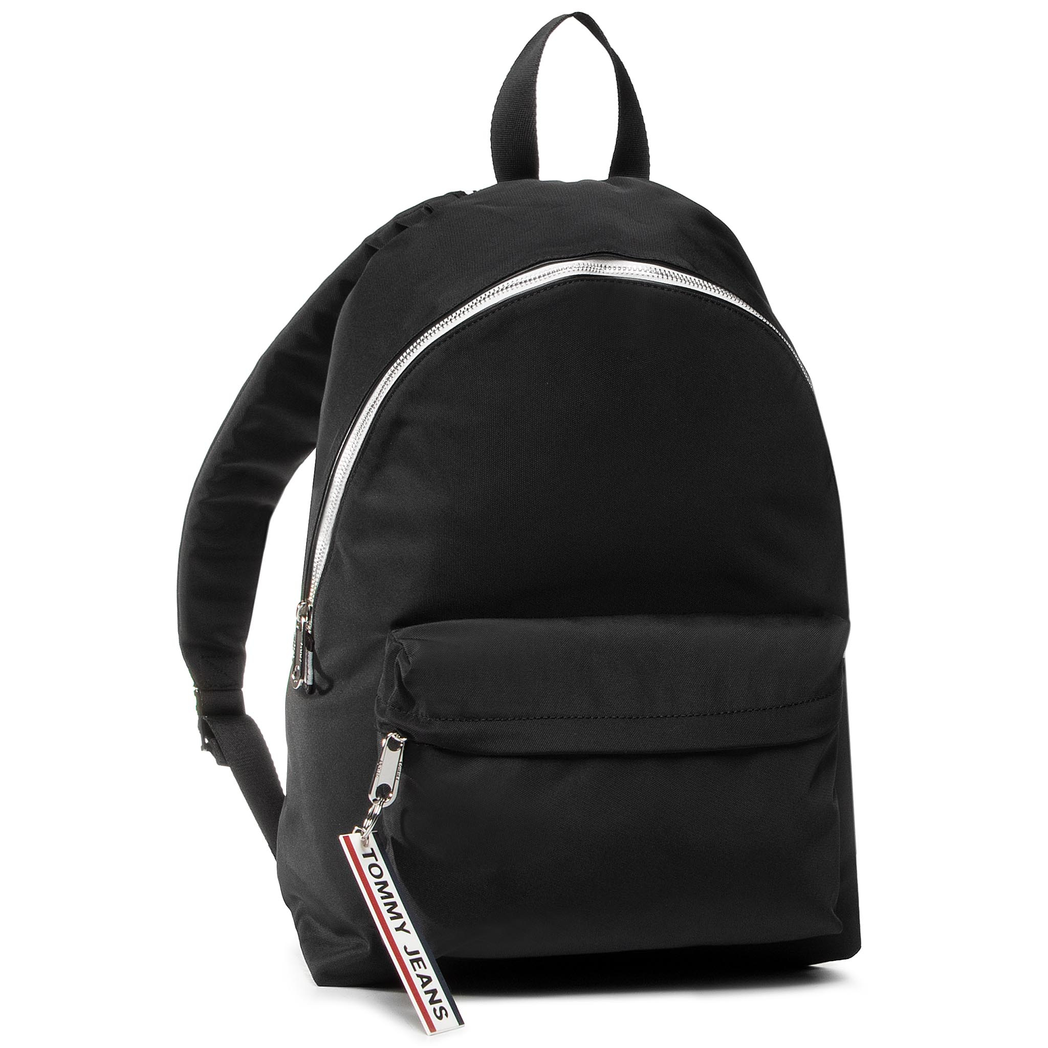 Rucsac TOMMY JEANS - Logo Tape Backpack Nyl AW0AW08049 BLK
