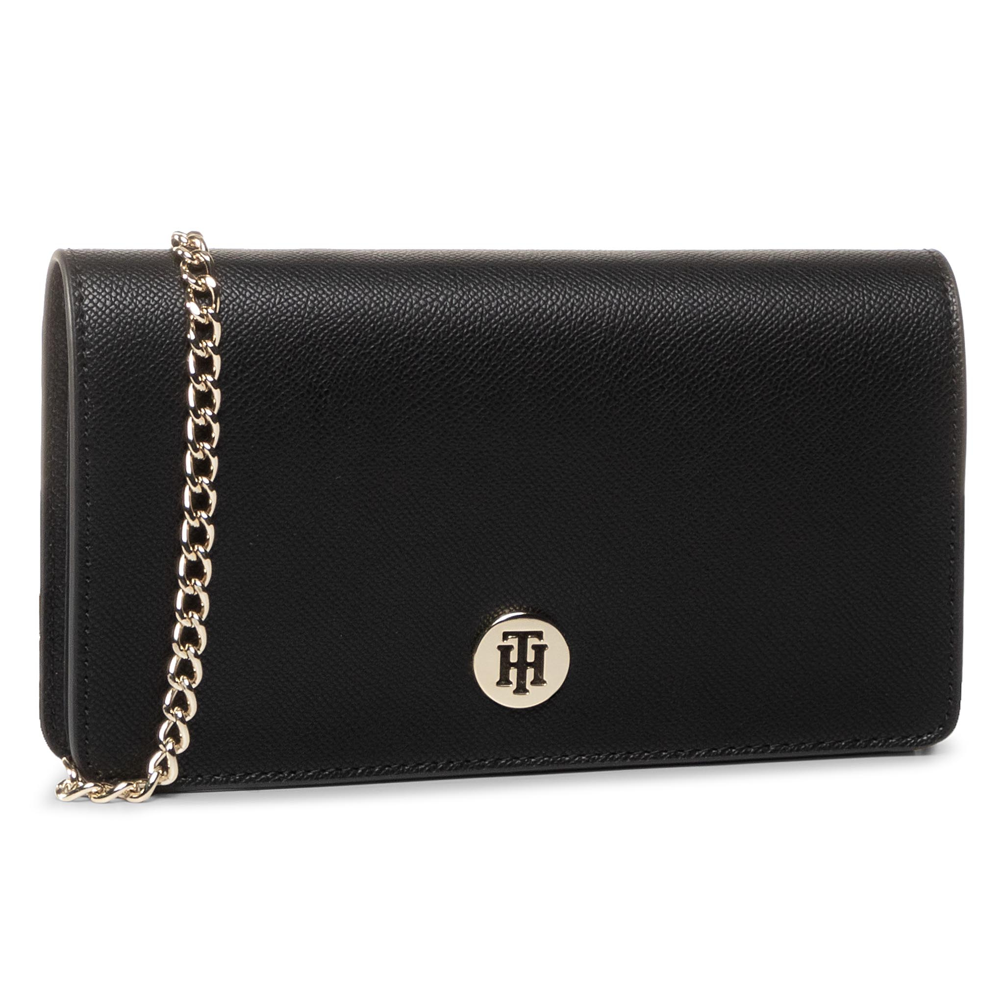 Geantă TOMMY HILFIGER - Honey Mini Crossover AW0AW07938 BDS
