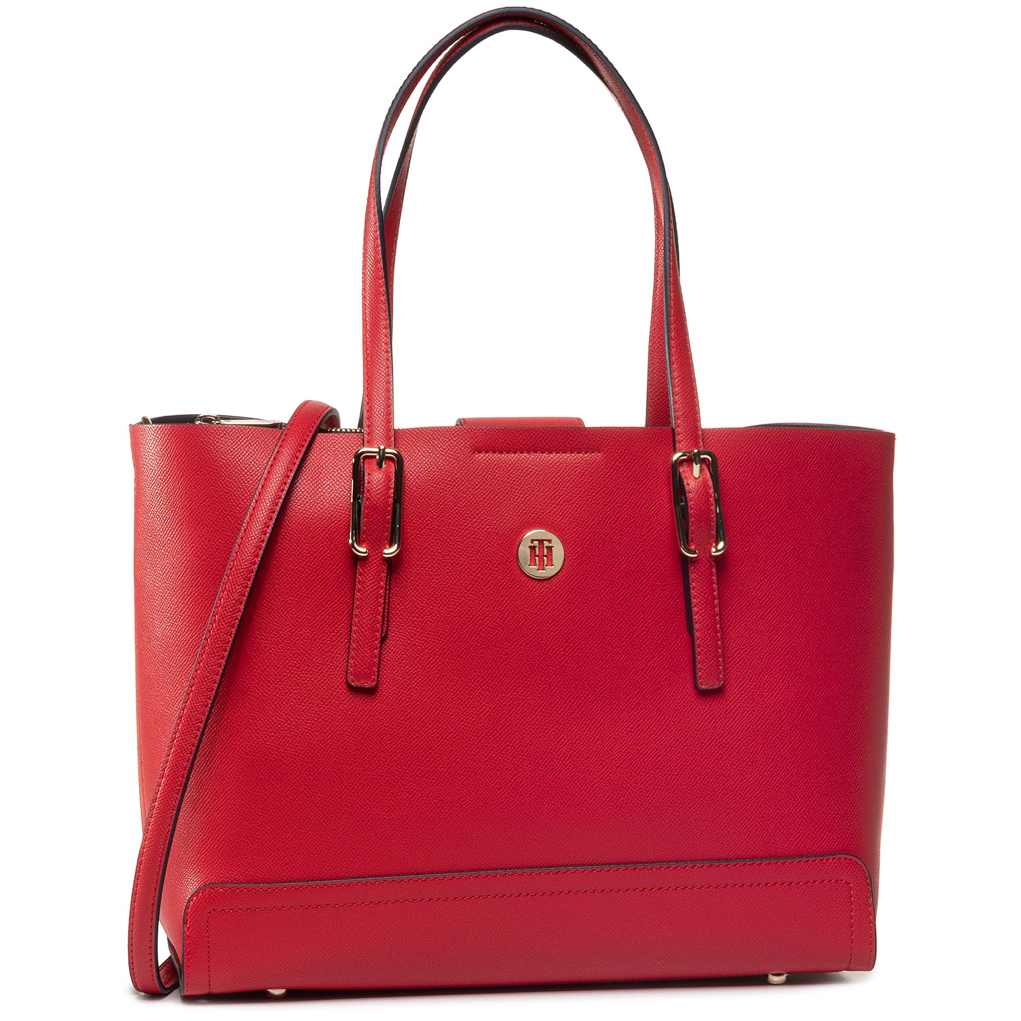 Geantă TOMMY HILFIGER - Honey Med Tote AW0AW07933 XAF