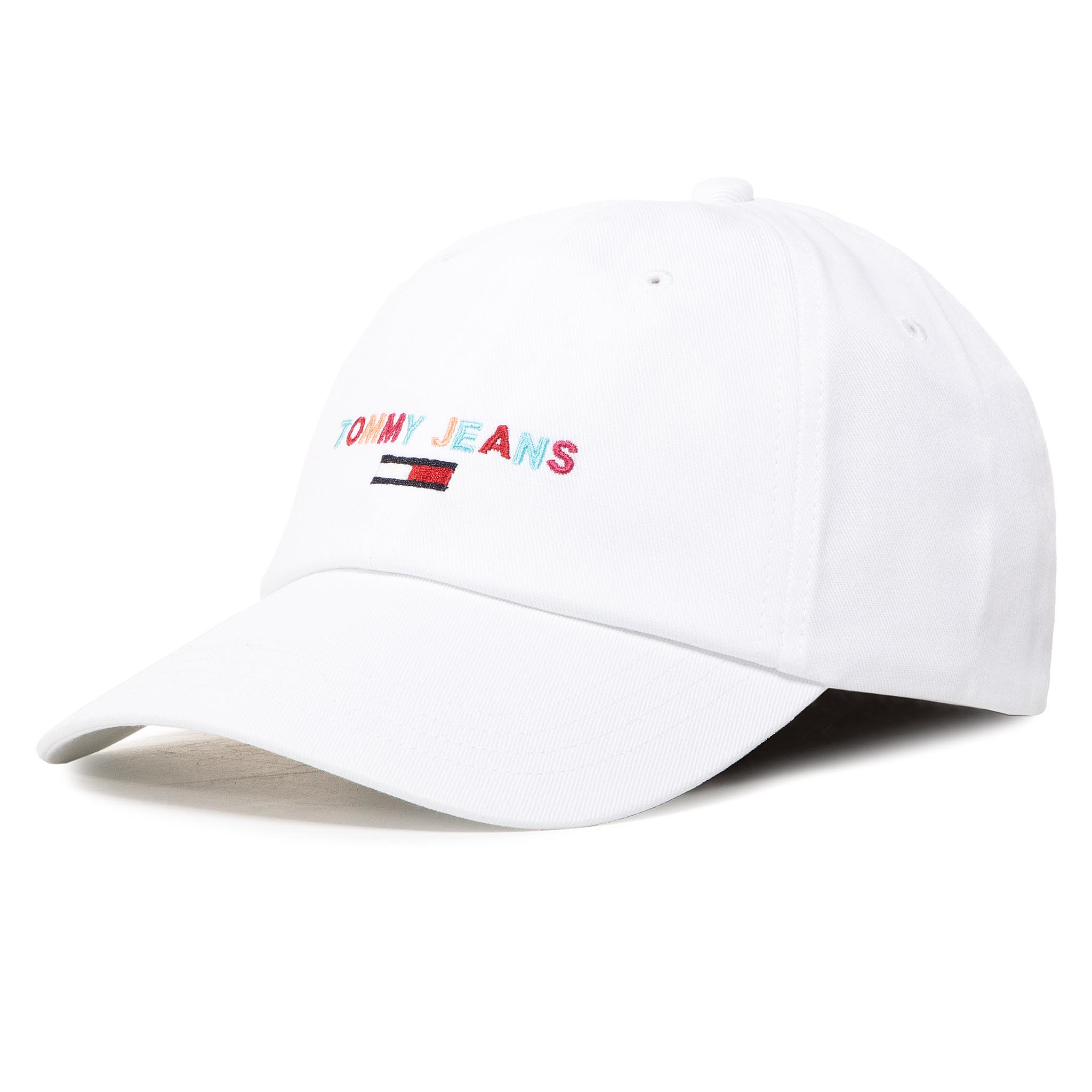 Șapcă TOMMY JEANS - Tjw Sport Cap Embroidered AW0AW08396 YA2 imagine