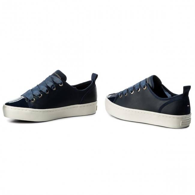 fecb935f564a Sneakers TOMMY HILFIGER - Jupiter FW0FW02597 Tommy Navy 406 ...