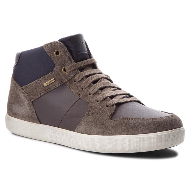 3749e09fde7bc Sneakers GEOX - U Taiki B Abx A U741UA 022FU CQ69A Taupe Anthracite ...