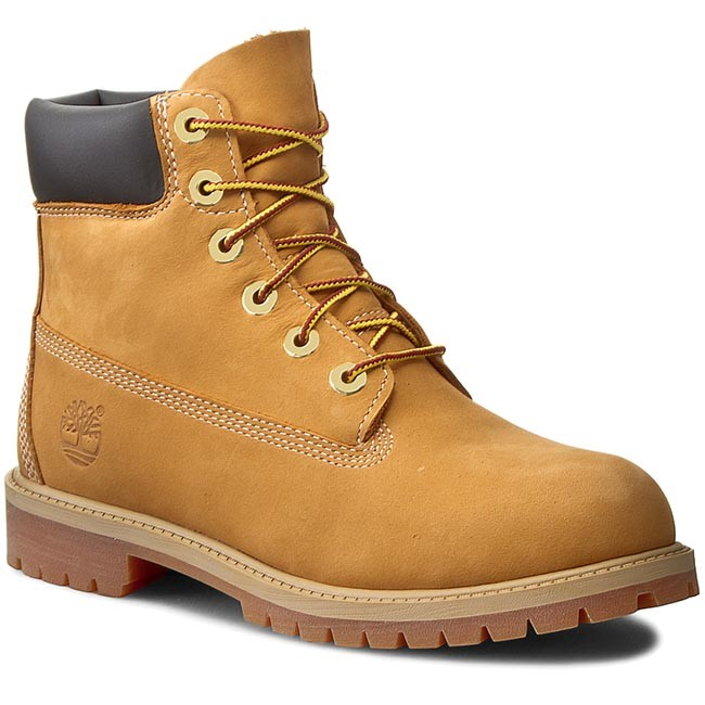 Trappers TIMBERLAND - 6 In Premium Wp Boot 12909/TB0129097131 Wheat Nubuc Yellow