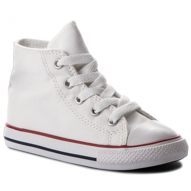 Teniși CONVERSE - Inf C/T All Star Hi 7J253C Optical White