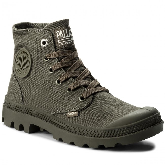 Trappers PALLADIUM - Mono Chrome 73089-325-M Olive Night