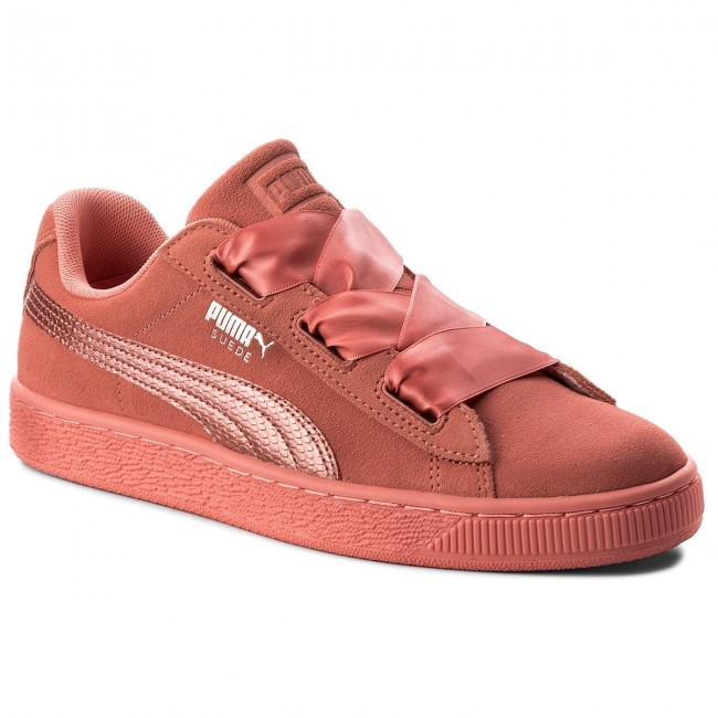 Sneakers PUMA - Suede Heart SNK Jr 364918 05 Shell Pink/Shell Pink