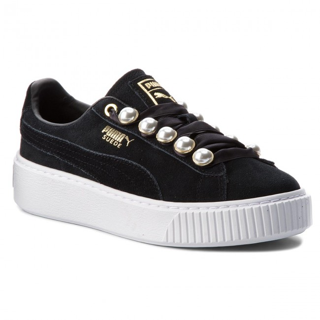 lowest price most reliable release date Sneakers PUMA - Suede Platform Bling Wn's 366688 01 Puma Black/Puma Black