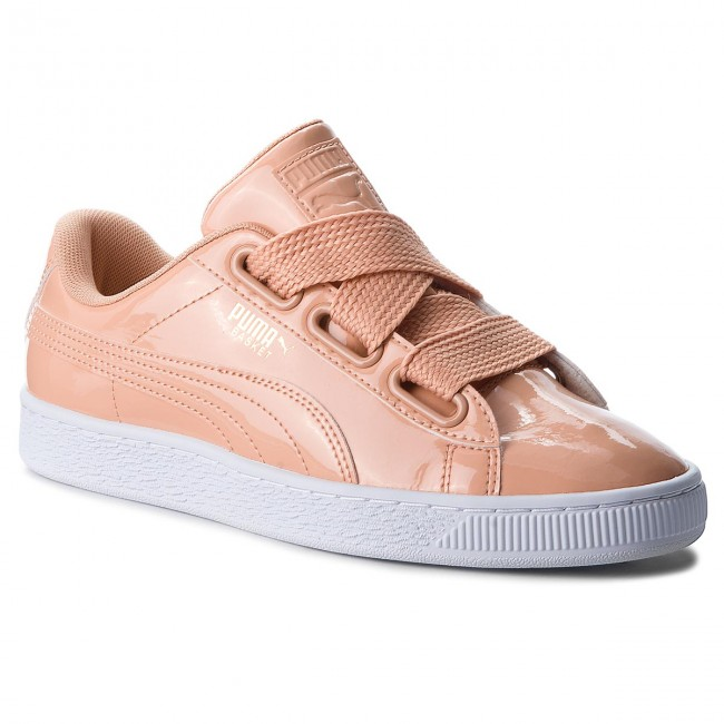 Sneakers PUMA - Basket Heart Patent 363073 16 Dusty Coral/Dusty Coral