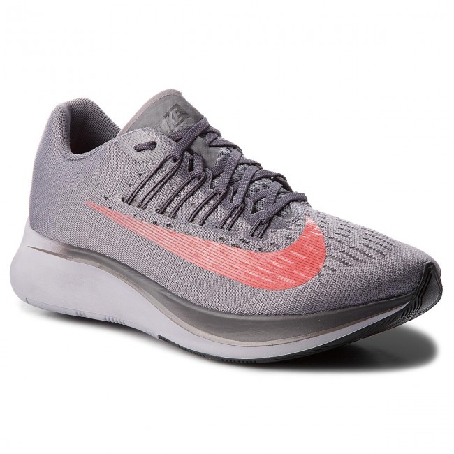 best value details for competitive price Pantofi NIKE - Zoom Fly 880848 004 Gunsmoke/Bright Crimson