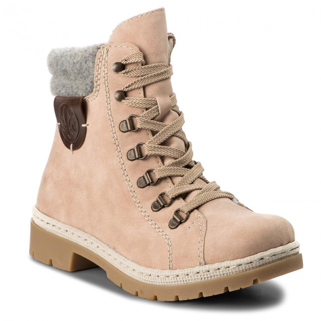 Trappers RIEKER - Y9430-32 Rosa