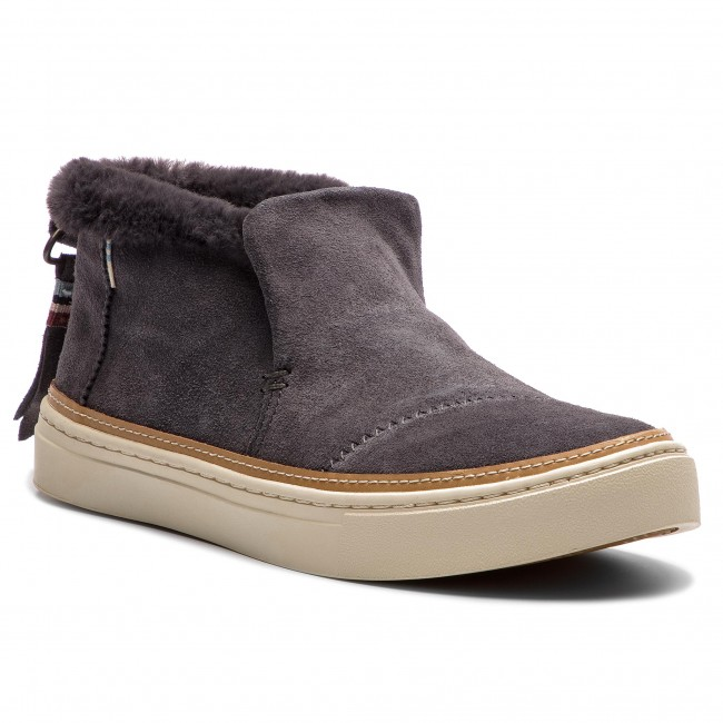 Botine TOMS - Paxton 10012386  Forged Iron Grey Suede