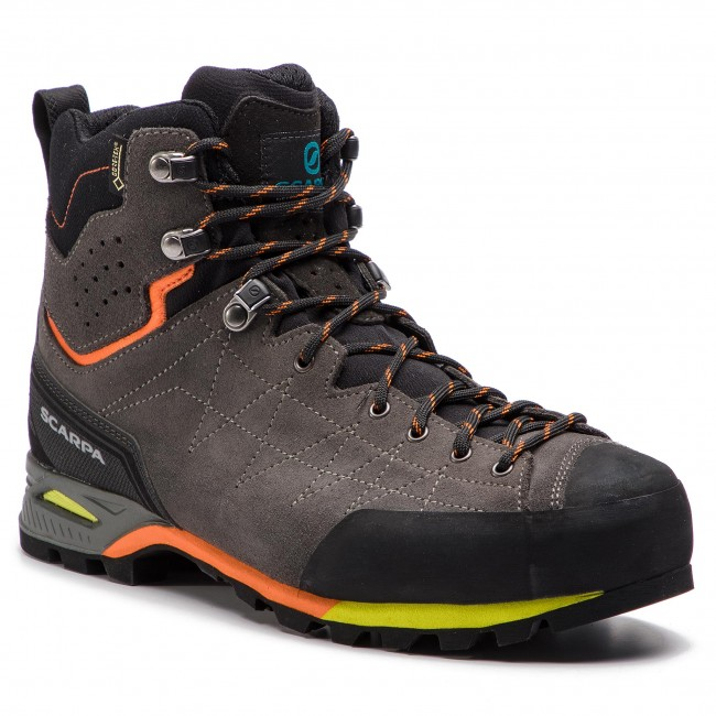 Trekkings SCARPA - Zodiac Plus Gtx GORE-TEX 71110-200 Shark/Orange