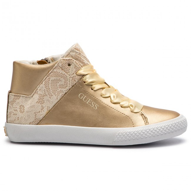 c14cdf34dd Sneakers GUESS - Marty FJMRT3 ELE12 OR/FLAX GOLD