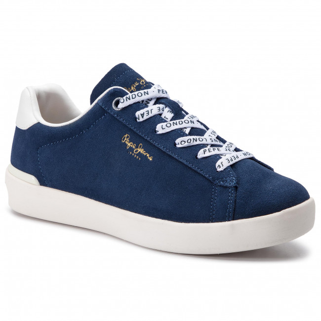 Sneakers PEPE JEANS - Roland Suede PMS30524 Ocean 588