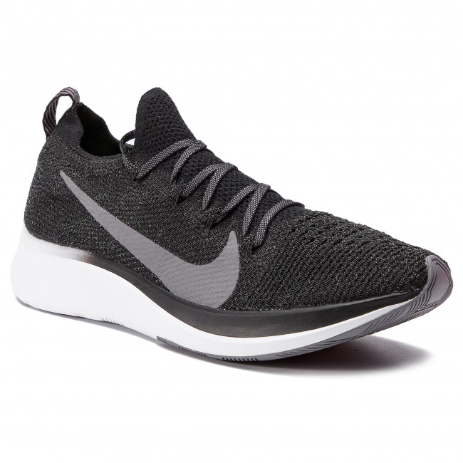 pick up good premium selection Pantofi NIKE - Zoom Fly Fk AR4561 001 Black/Gunsmoke/White