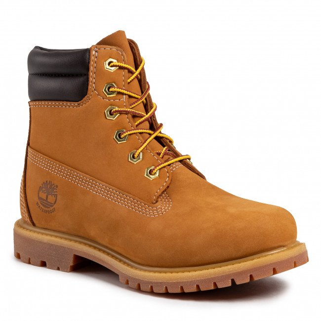 Trappers TIMBERLAND - Waterville 6 In Waterproof Boot TB042687231 Wheat Nubuck