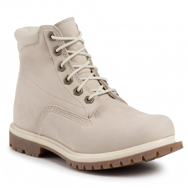 Trappers TIMBERLAND - Waterville 6 In Waterproof Boot TB0A1HMC169 White Nubuck