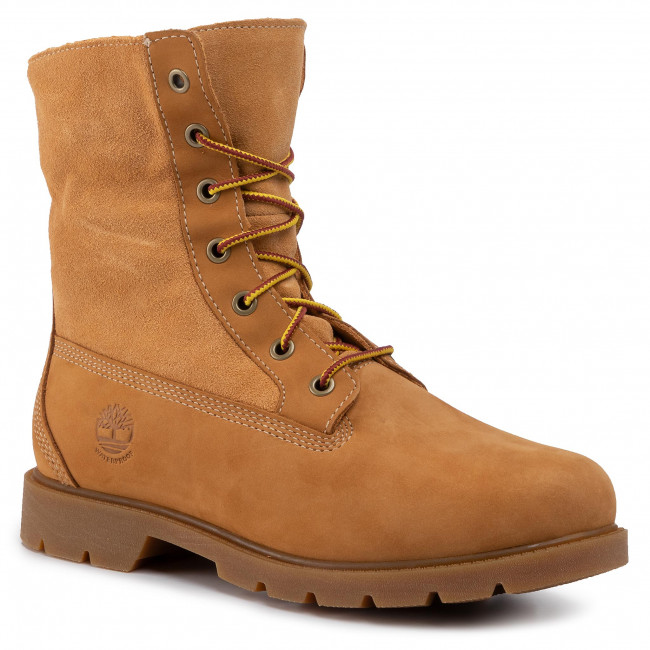 Trappers TIMBERLAND - Linden Woods Wp Fleece Fold Down TB0A1KGC231 Wheat Nubuck