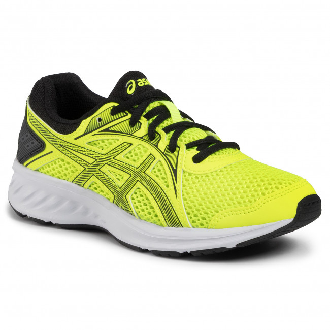 Pantofi ASICS - Jolt 2 Gs 1014A035  Safety Yellow/Black 750