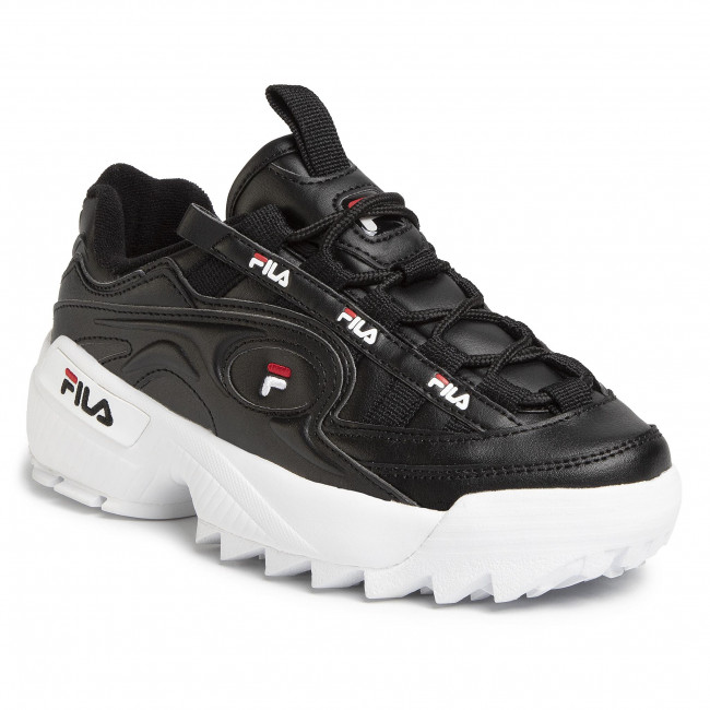 D-Formation Wmn 1010856.13S Black/White/Fila Red