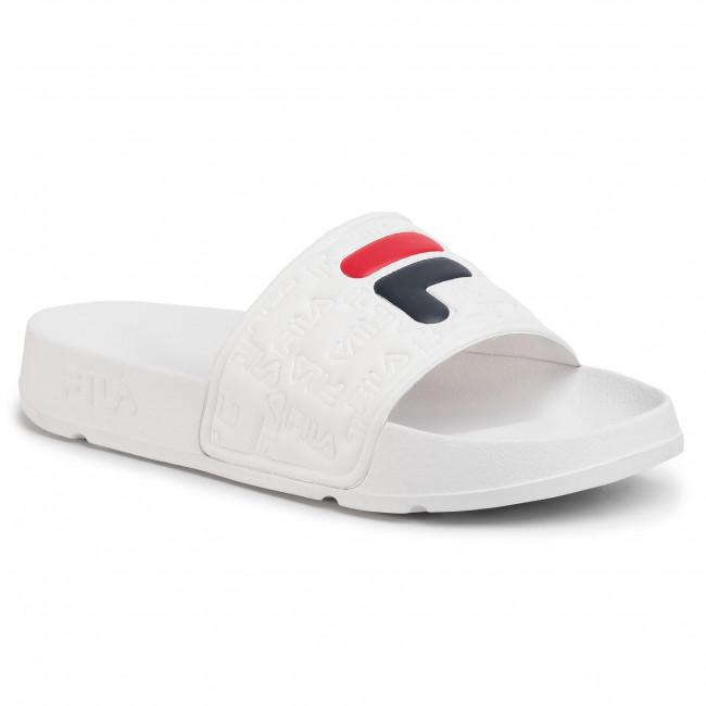 Șlapi FILA - Boardwalk Slipper 2.0 Wmn 1010959.1FG White