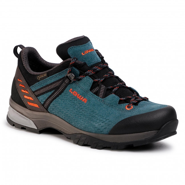 Trekkings LOWA - Ledro Gtx Lo GORE-TEX 210717  Petrol/Orange 7420