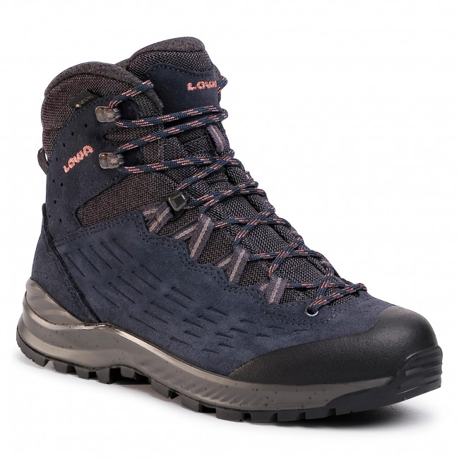 Trekkings LOWA - Explorer Gtx Mid Ws GORE-TEX 220718  Navy/Rose 6909