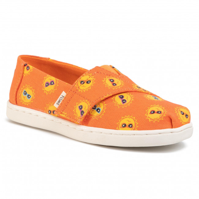 Pantofi TOMS - Tiny Classic 10015217 Coral Shades For Day Print