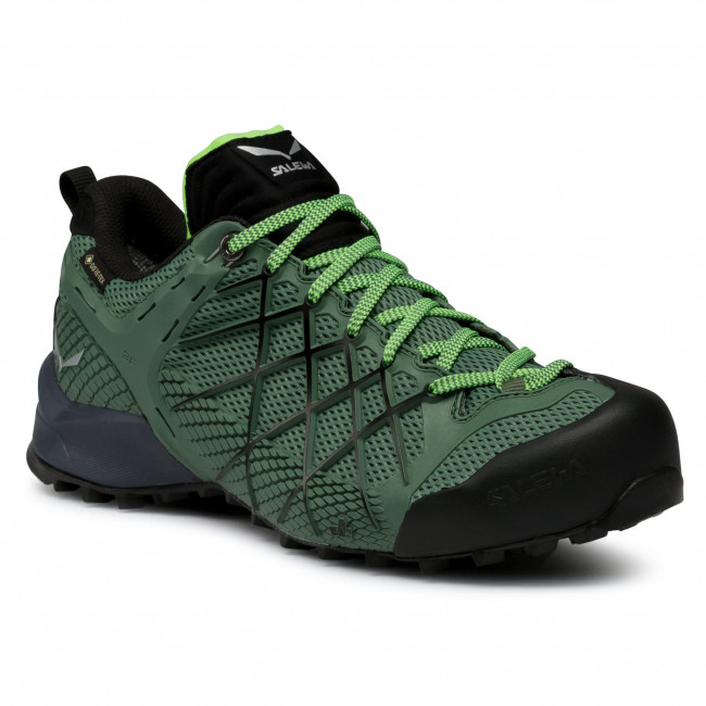 Trekkings SALEWA - Ms Wildfire Gtx GORE-TEX 63487 5949 Myrtle/Fluo Green