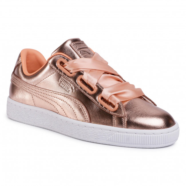 Sneakers PUMA - Basket Heart Luxe Wn's 366730 03 Dusty Coral/Puma White