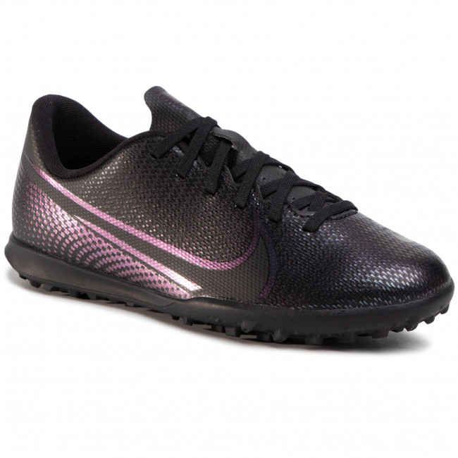 Pantofi NIKE - Vapor 13 Club Tf AT8177 010 Black/Black