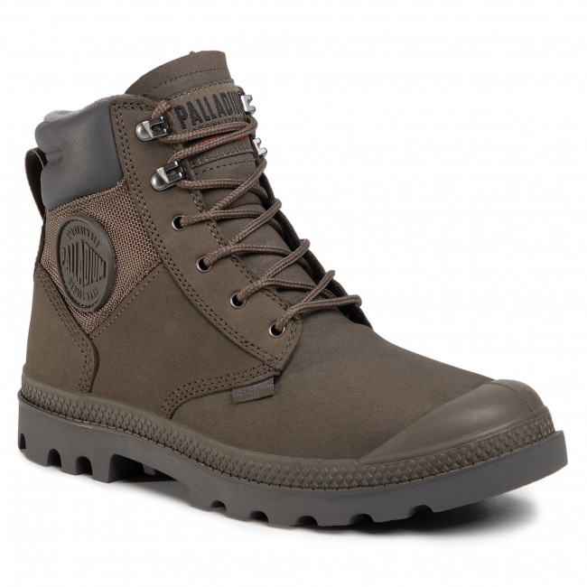 Trappers PALLADIUM - Pampa Shield Wp+ Lux 76843-213-M Major Brown
