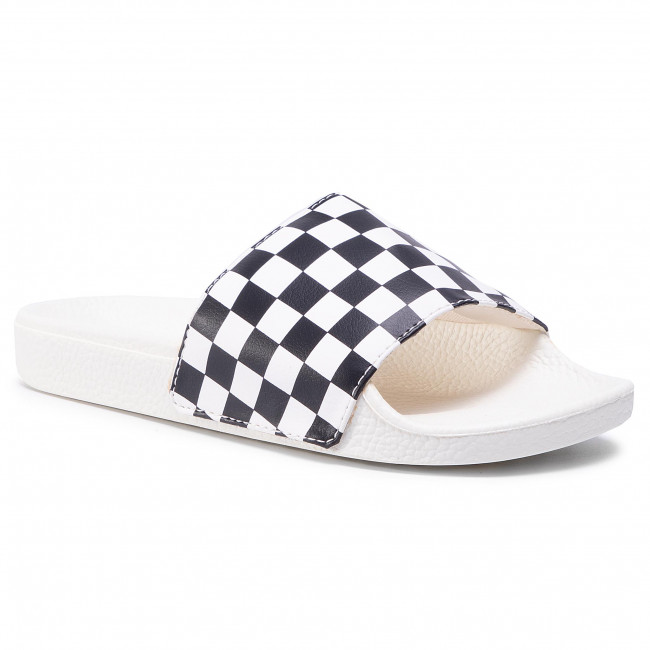 Șlapi VANS - Slide-On VN0004LG27K1  (Checkerboard)Wht/Blk