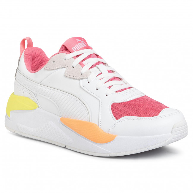 Pantofi PUMA - X-Ray Game 372849 03 White/Bubblegum/Plein Air-Ca
