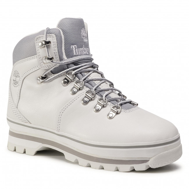 Trappers TIMBERLAND - Euro Hiker TB0A2ENGL771 White Full Grain