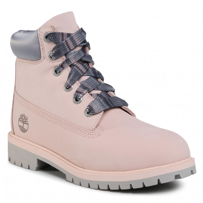 Trappers TIMBERLAND - Premium 6 In Waterproof Boot TB0A2F6DN971  Light Pink Nubuck