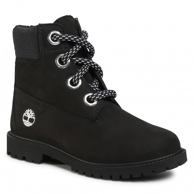 Trappers TIMBERLAND - Heritage 6 In Waterproof Boot TB0A2Q8F0011 Black