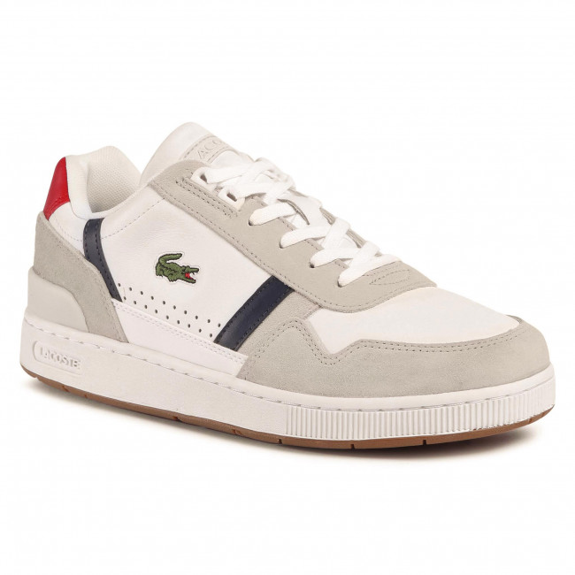 Sneakers LACOSTE - T-Clip 0120 2 Sma 7-40SMA0048407 Wht/Nvy/Red