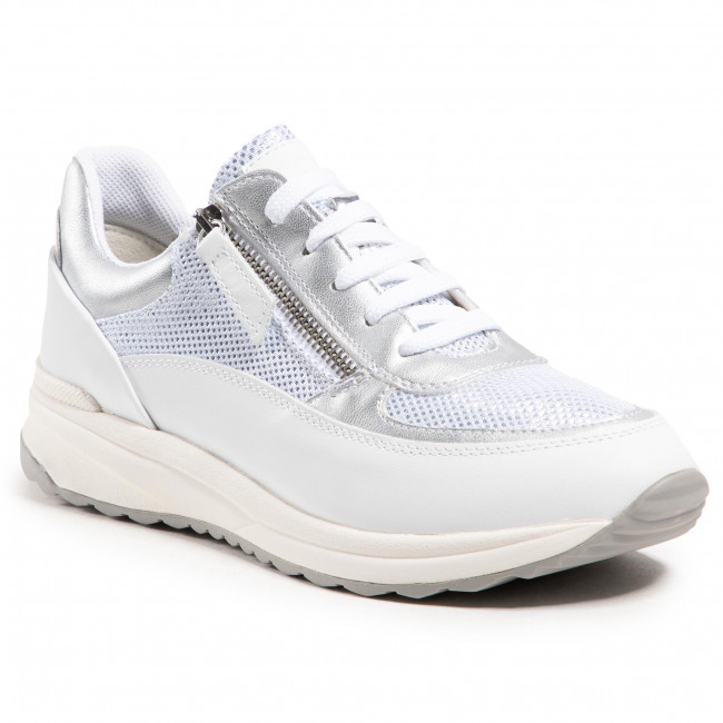 Sneakers GEOX -  D Airell A D152SA 02241 C5000 White/Off Whitte