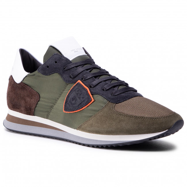 Sneakers PHILIPPE MODEL - Trpx TZLU W052 Militaire1