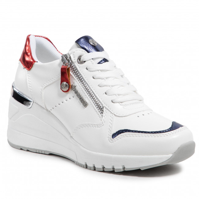 Sneakers DOCKERS BY GERLI - 47OU201-618507 White/Red