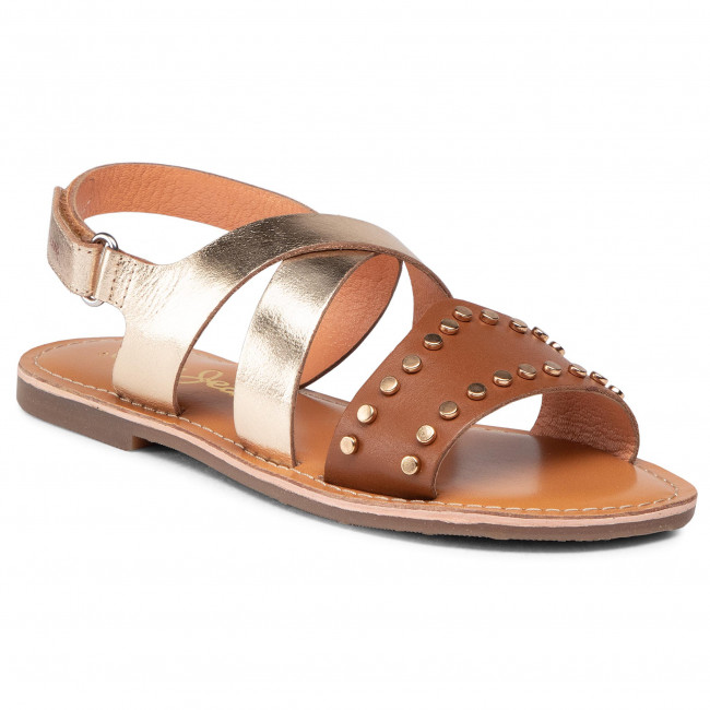 Sandale PEPE JEANS - Mandy Studs PGS90173 Tobacco 859