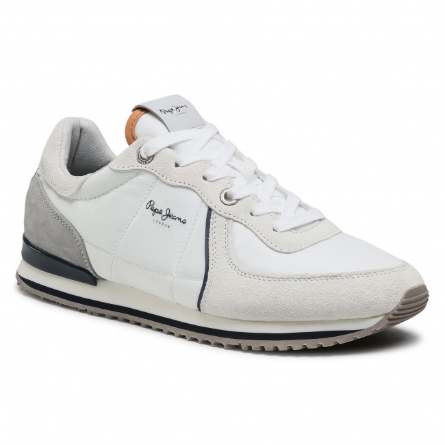 Sneakers PEPE JEANS - Tinker City 21 PMS30728 Factory White 801