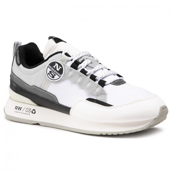Sneakers NORTH SAILS - RW/03 Frost -029 White/Lt Gray/Black