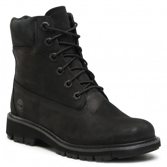 Trappers TIMBERLAND - Lucia Way 6 In Waterproof Boot TB0A1SC4001 Black Nubuck