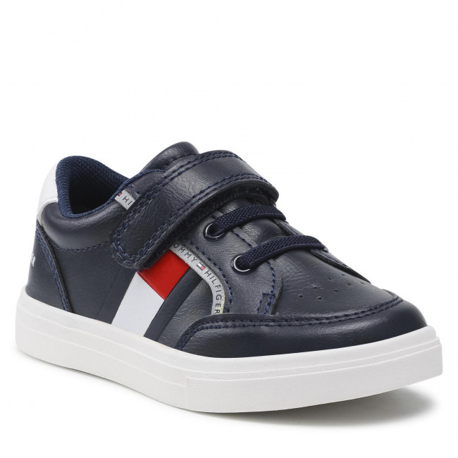 Sneakers TOMMY HILFIGER - Low Cut Lace T1B4-32038-0754Y S Blue/White/Red 004