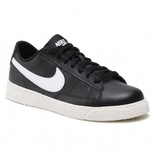 Pantofi NIKE - Blazer Low Gs CZ7106 001 Black/White/Sail