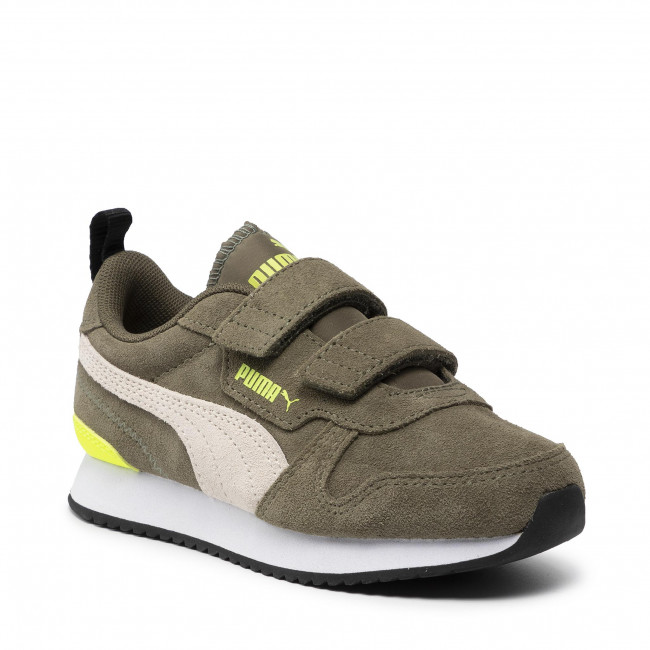 Sneakers PUMA - R78 Sd V Ps 368590 01 Burnt Olive/Ww/Yellow Alert
