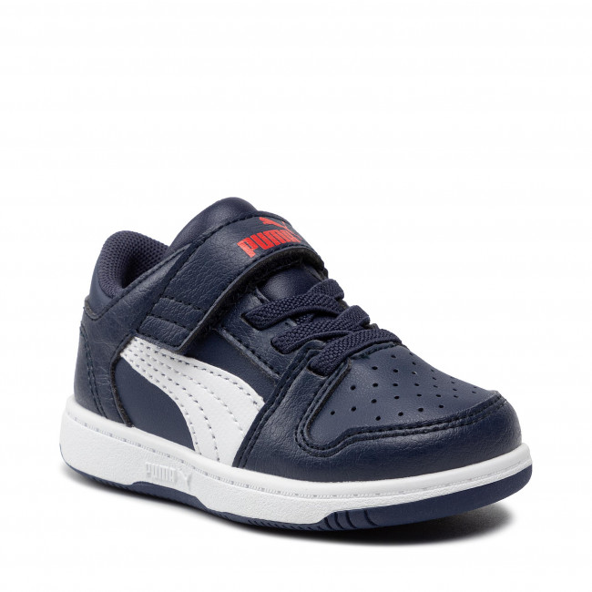 Sneakers PUMA - Rb LayUp Lo Garment Washed 371470 03  Peacoat/Puma White/Red