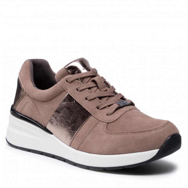 Sneakers CAPRICE - 9-23707-27 Taupe Comb 345